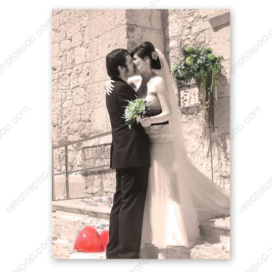 Un lienzo para tu salón con la mejor foto de tu boda