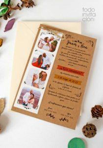 invitacion boda fotomaton