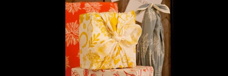 Furoshiki. Cómo envolver regalos con tela de una manera muy original