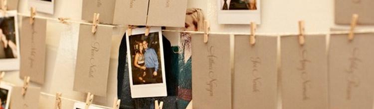 Polaroids para tus invitados en tu boda