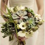 Suculentas ramo de novia 16