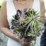 Suculentas ramo de novia 3