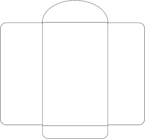 Card Envelope Size Template