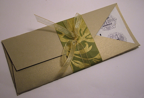 Haz tus propios sobres con el papel que quieras - invitaciones y ...
