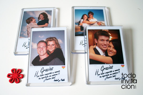 iman personalizado original para boda
