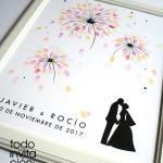 cuadro-huellas-boda-fuego artificiales
