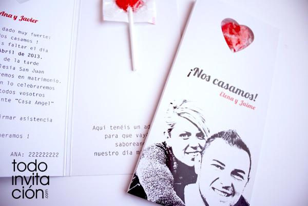 Invitaciones para boda civil foro manualidades para - Invitacion de boda original ...