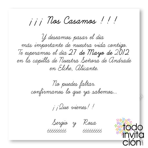 Texto de invitaciónes de boda cristiana - Imagui