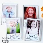 imanes divertidos para comunion polaroid