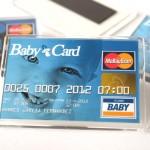 recordatorio bautizo iman tarjeta de credito