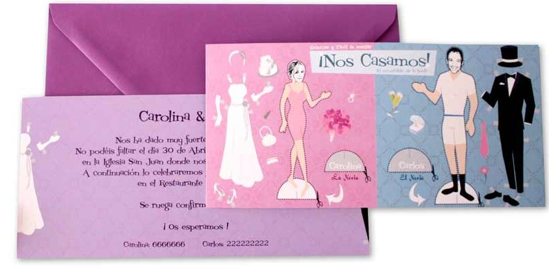 invitacion-recortable boda