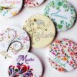 espejos personalizados con nombres para bodas y despedidas
