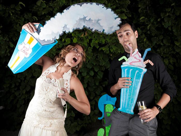 Los photocalls de boda m s originales y divertidos - Ideas divertidas para fiestas ...