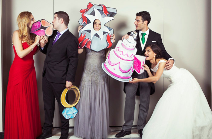 Los photocalls de boda más originales y divertidos - grandes ideas ...