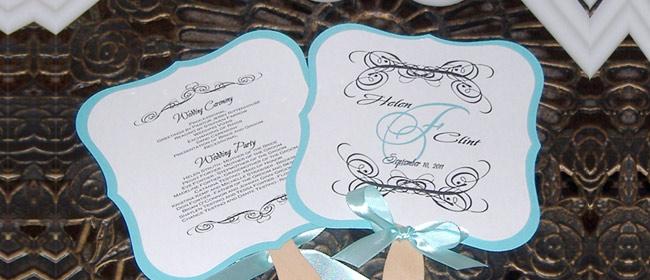 Abanicos originales para bodas : las mejores ideas