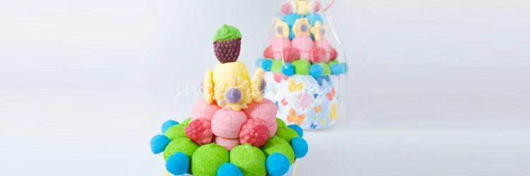 Tartas de golosinas para los niños en tu celebración