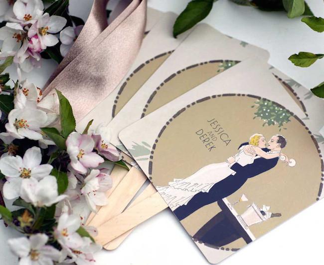 Decorar abanicos para bodas top abanicos para novias - Abanicos para decorar ...