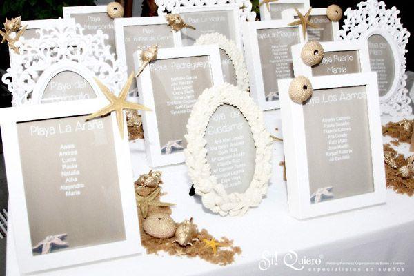 Como hacer el plano de mesas de tu boda seating plan for Mesas de boda originales