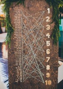 planos de mesas originales para bodas