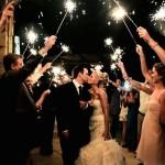 Bengalas en tu boda