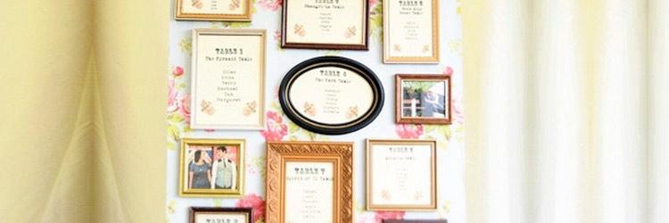 Como hacer el plano de mesas de tu boda (seating plan ) original y diferente