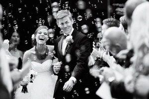 Pompas de jabón en tu boda