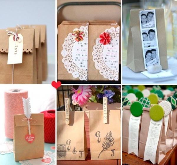 Wedding Craft Ideas Pinterest : Como envolver tus regalos con papel kraft de un forma original y ...