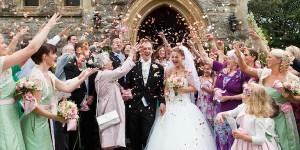 Pétalos en tu boda