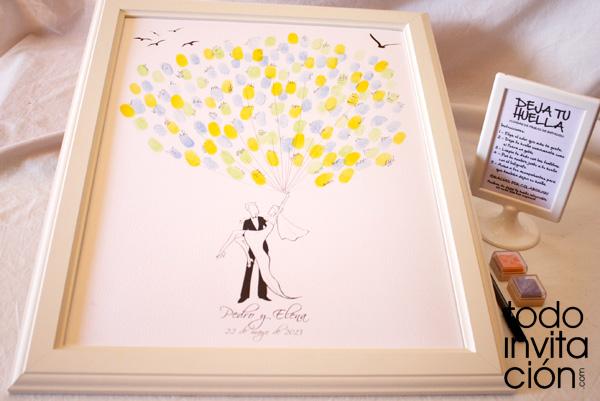 El libro de firmas para bodas 7 alternativas originales - Cuadros con fotos originales ...
