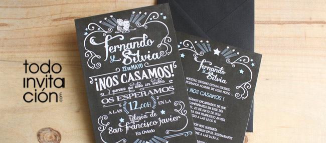 8 invitaciones de boda Vintage: 8 grandes diseños