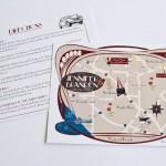 Invitación original de viaje