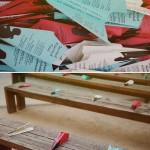 Aviones de papel en tu boda