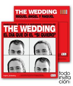 invitacion original boda the beatles