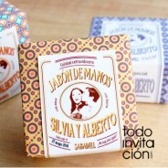 Jabón artesanal al más puro estilo vintage para tu boda