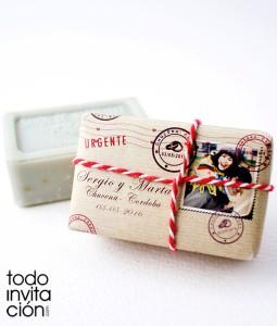 jabon original para bodas detalle invitados
