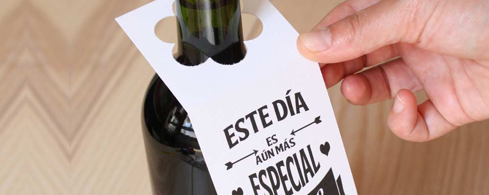 etiquetas vino para bodas