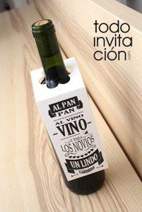 etiquetas vino gratis descargable todoinvitacion