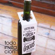 Etiquetas para el vino de boda gratis – descargable