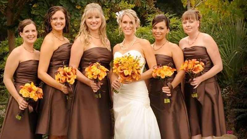 los colroes en las bodas