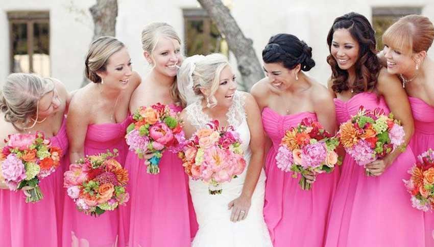 los colores en las bodas