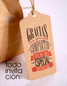 etiquetas de kraft. para detalles boda comunion bautizo reglos