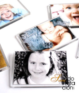 imán personalizado con foto comunion