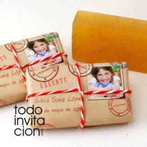 jabon personalizado artesanal post comunion