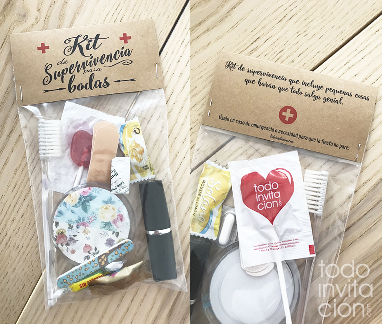 descargable kit supervivencia bodas