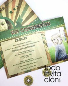 invitacion comunion original