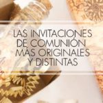 invitaciones comunion originales