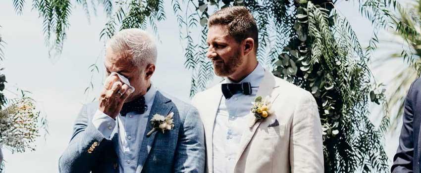 lagrimas de felicidad de boda