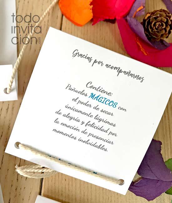 lagrimas de felicidad gratis para bodas - estuches para pañuelos