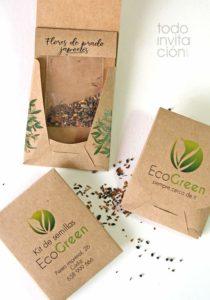 semillas personalizadas empresas promocional