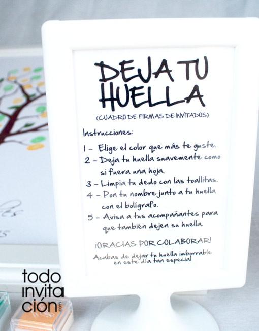 CUADRO DE HUELLAS \